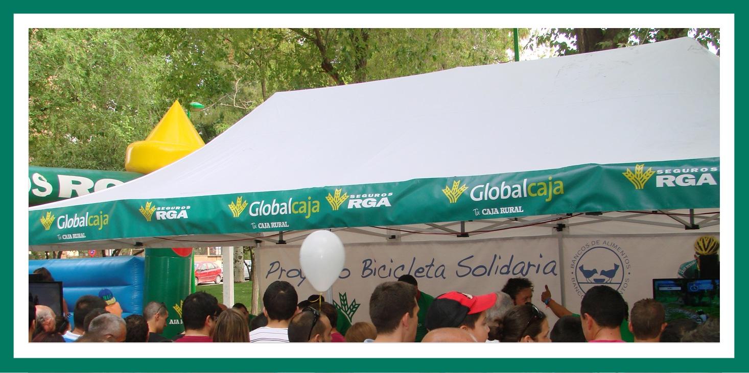 Globalcaja y Seguros RGA con la Vuelta Ciclista a España.
