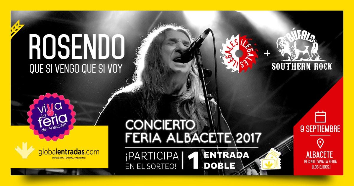 El sorteo de una entrada doble para ver a Rosendo solo puede ser para un amante del mejor rock español. Además, estarán con él Ilegales y Búfalo.