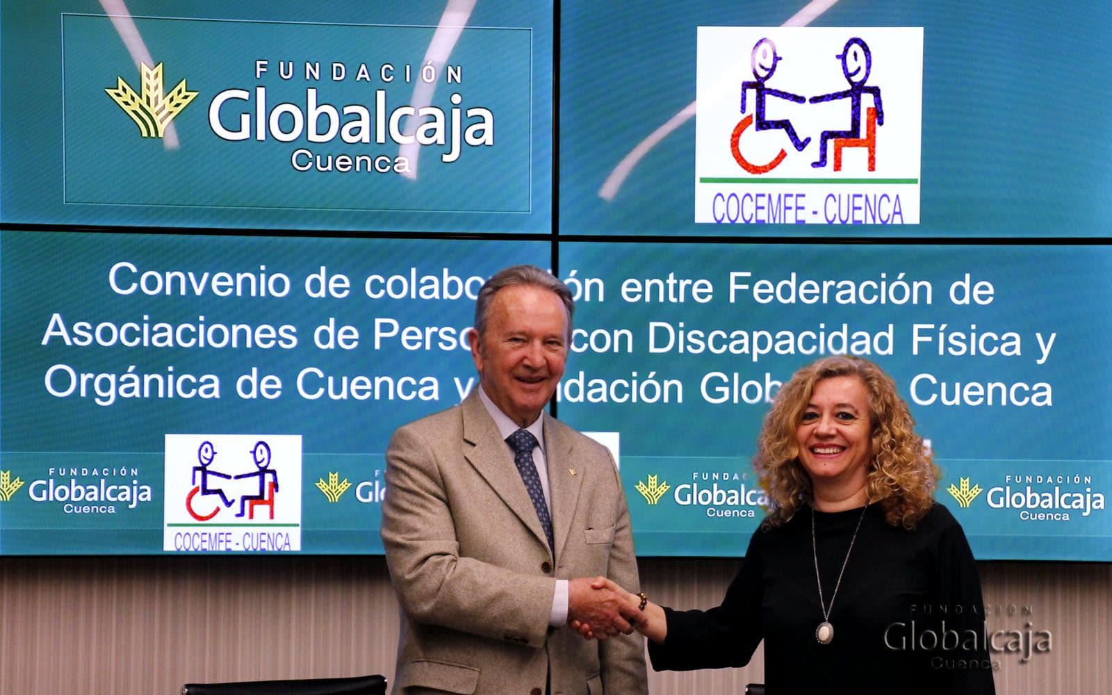 COCEMFE y la Fundación Globalcaja Cuenca renuevan su colaboración