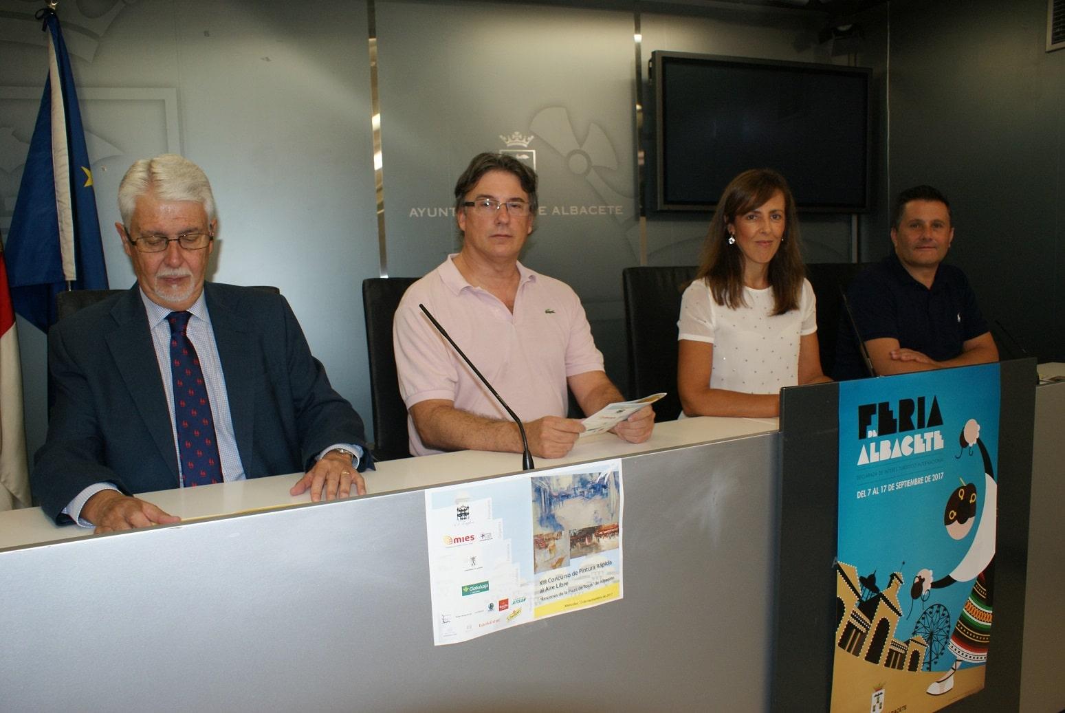 La XIII edición del Concurso de Pintura Rápida Feria de Albacete