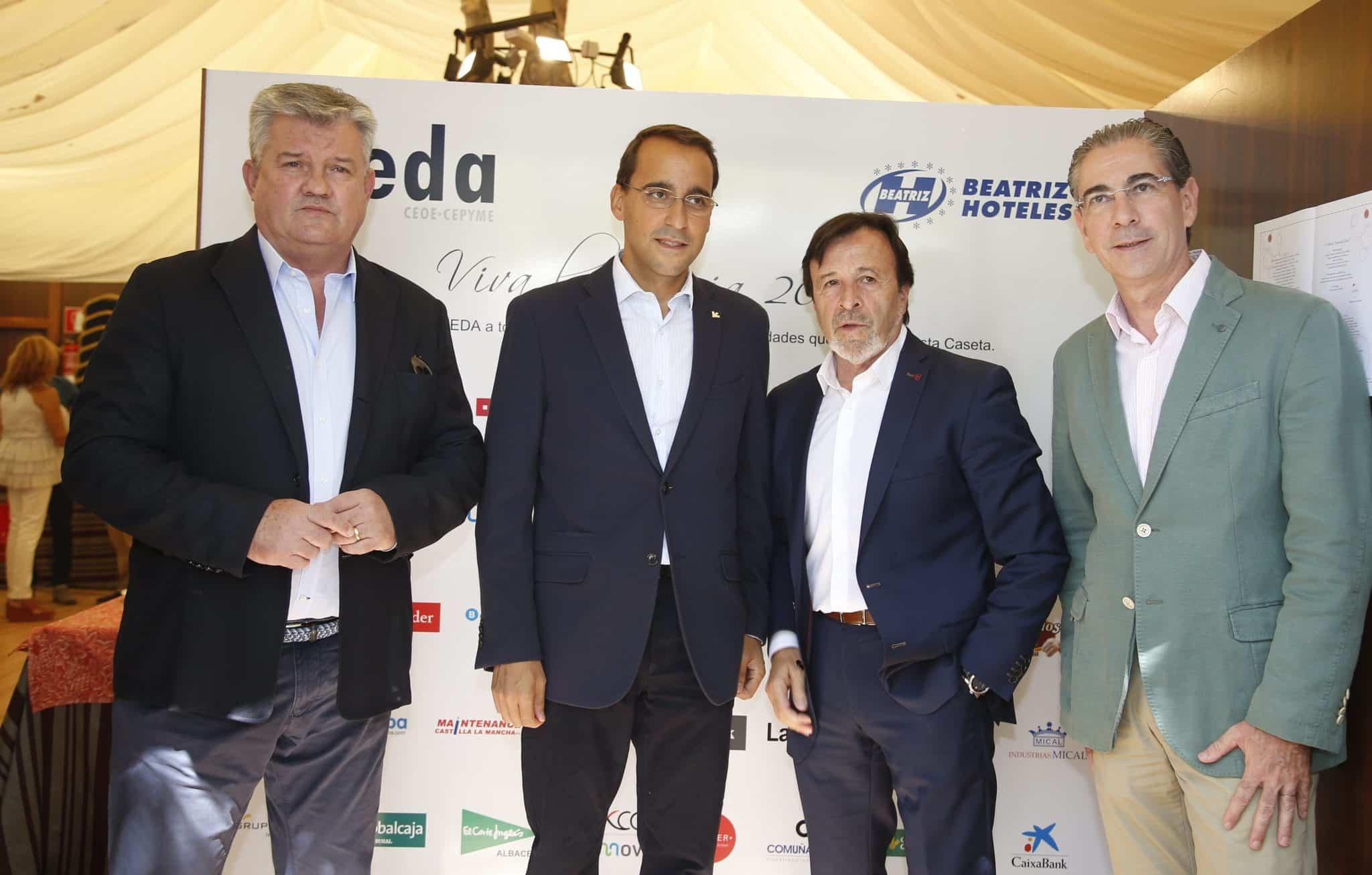 Globalcaja en la inauguración de la Caseta de FEDA en la Feria de Albacete