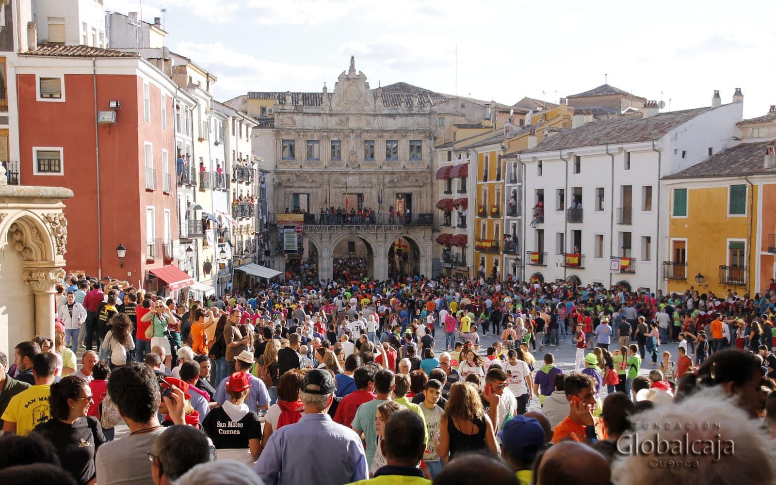 Globalcaja colabora, un año más, en las fiestas de San Mateo en Cuenca