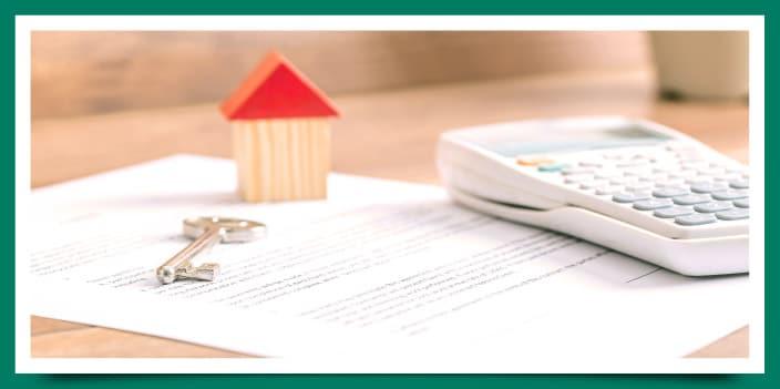 Tasación de una vivienda y porcentaje a hipotecar