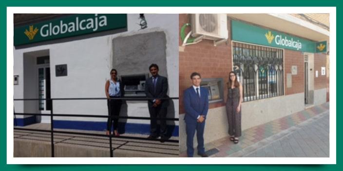 Nuevos cajeros automáticos de Globalcaja en Las Labores y Arenales