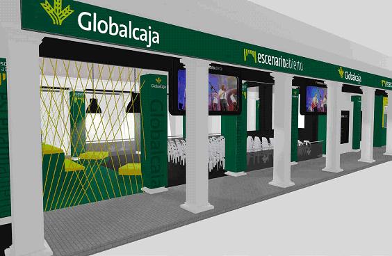 escenario abierto Globalcaja