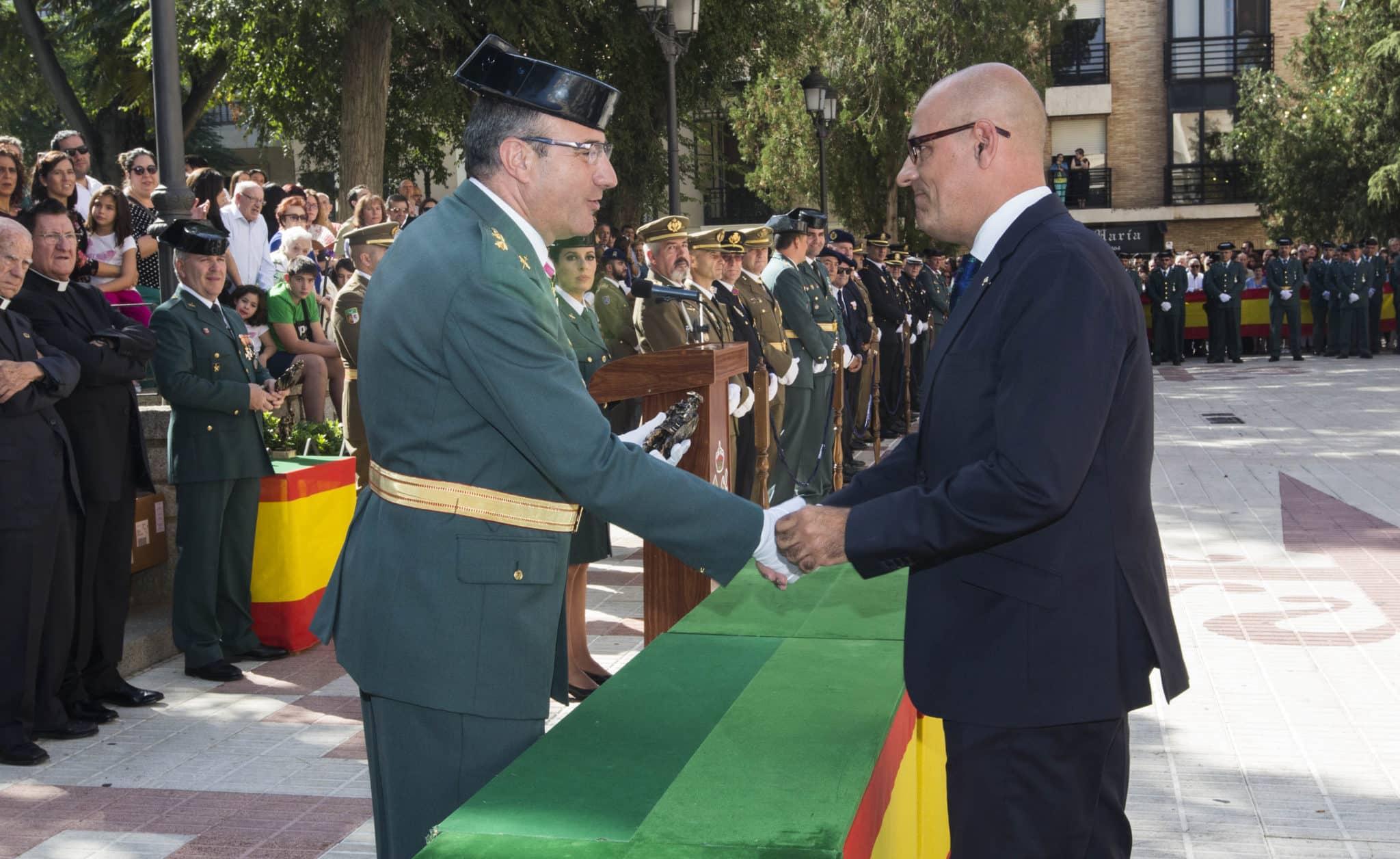Globalcaja, reconocida por la Guardia Civil de Ciudad Real