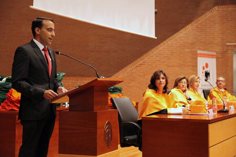 Pedro Palacios, Padrino de Alumnos Uclm Albacete