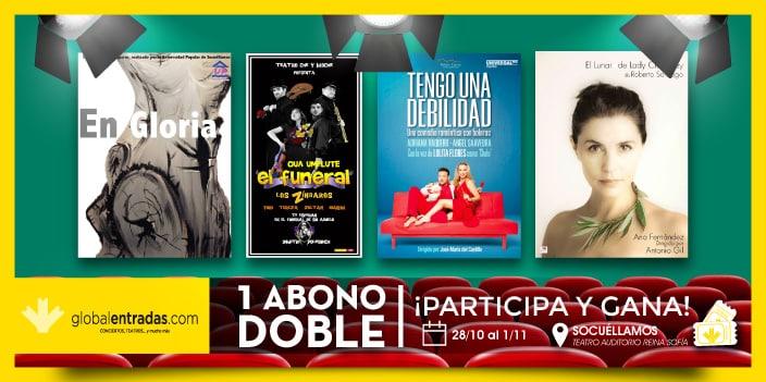 ¡Sorteo abono doble para Muestra Teatro Socuéllamos!