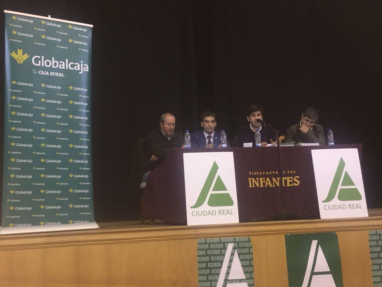 Globalcaja, en la asamblea de Asaja de Campo de Montiel