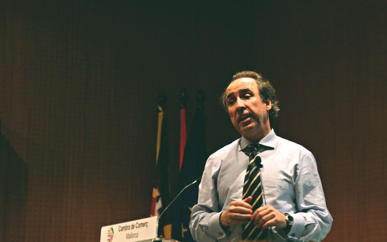 """""""No Vale Rendirse"""", Conferencia de Emilio Duró en Ciudad Real"""