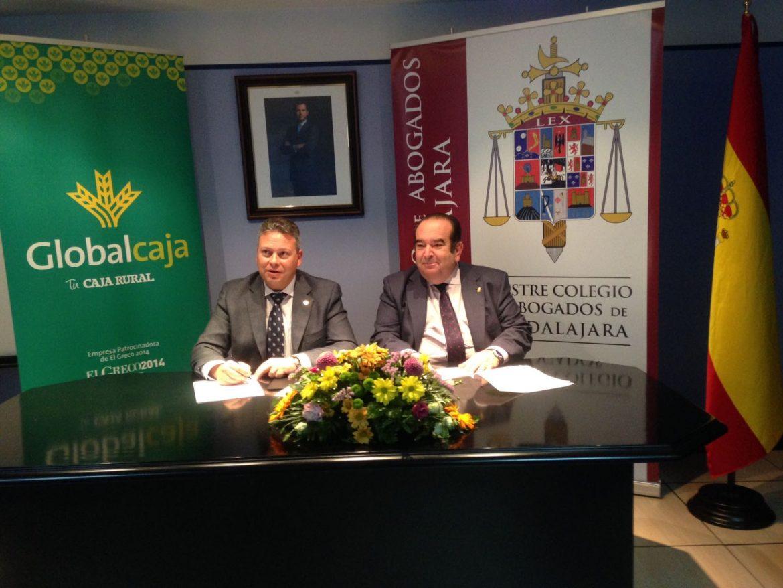 Convenio de Globalcaja con el Colegio de Abogados de Guadalajara