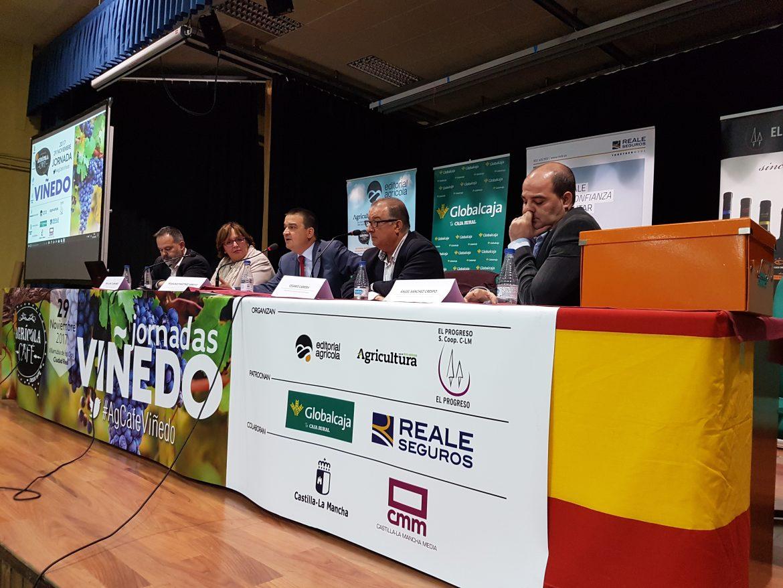 Agrícola Café celebró su Jornada de Viñedo en Villarrubia de los Ojos, con el patrocinio de Globalcaja