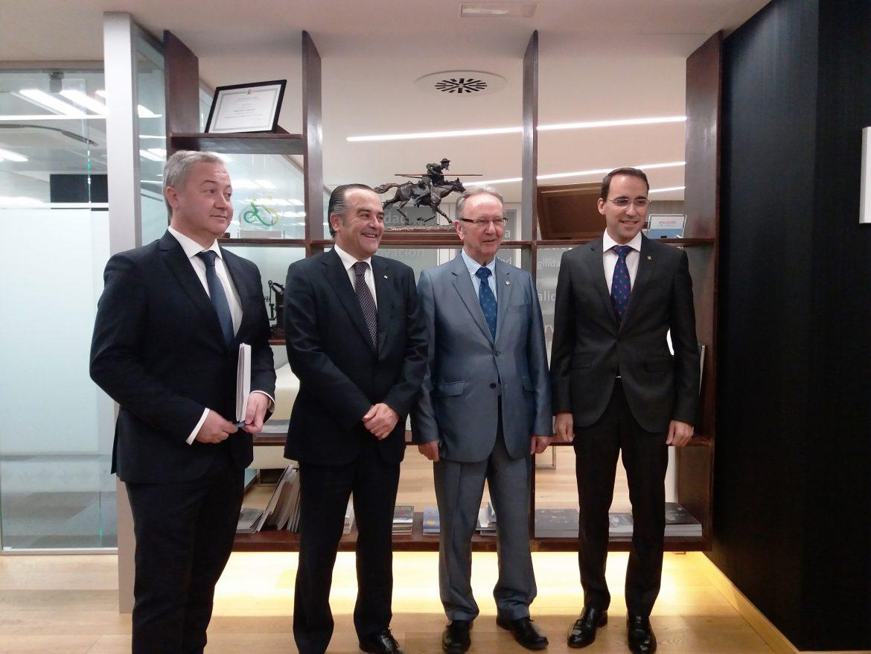 El Delegado del Gobierno, José Julián Gregorio, destaca la labor de Globalcaja por el desarrollo de Castilla-La Mancha