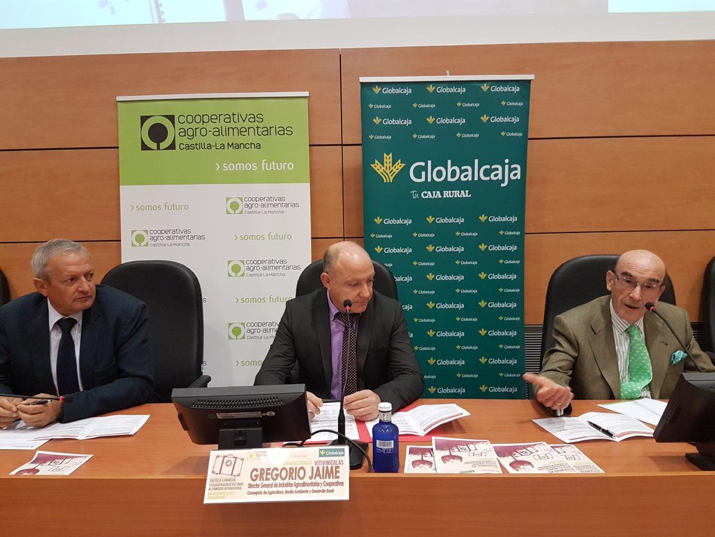 Globalcaja apoya el Comercio Exterior del Vino del Sector Cooperativo de la Región