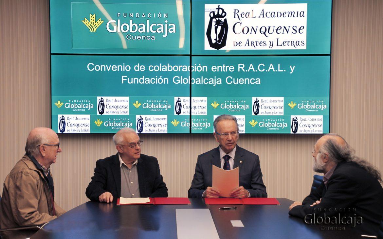 La Fundación Globalcaja Cuenca y la RACAL renuevan su colaboración