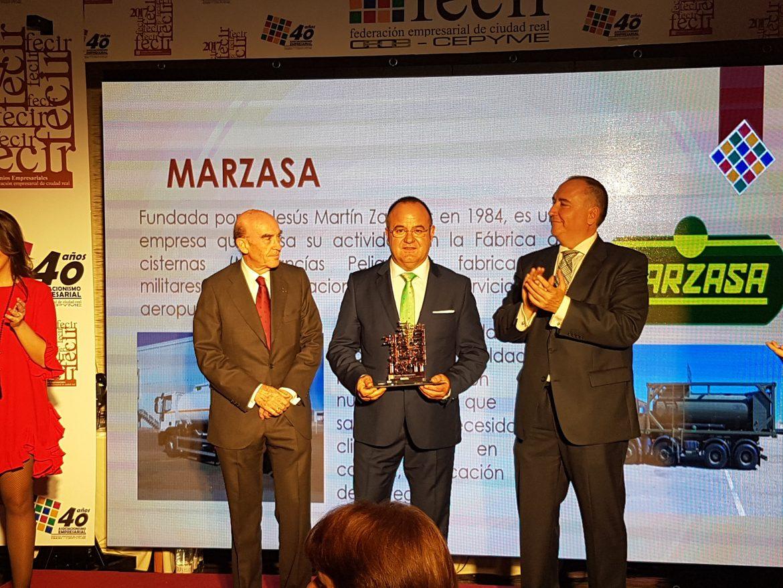 Globalcaja, con el Sector Empresarial de Ciudad Real, en los Premios Fecir 2017
