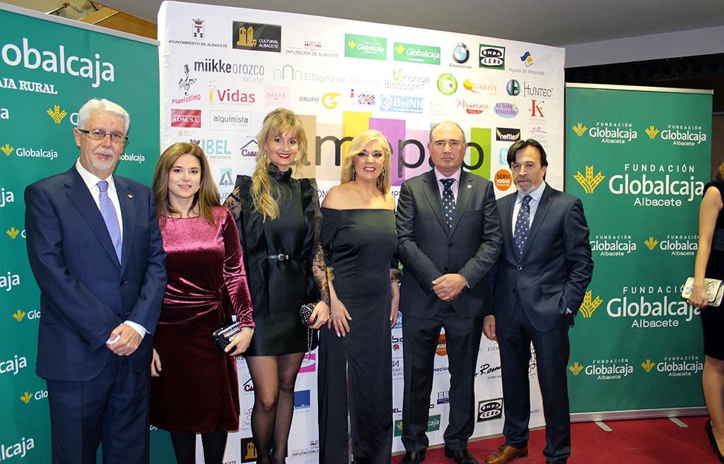 Globalcaja, con las Mujeres Empresarias, en los Premios Amepap