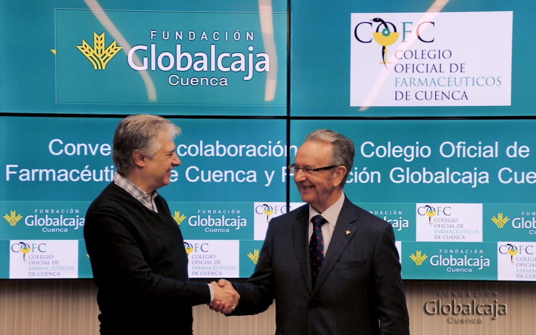 La Fundación Globalcaja apoya al Colegio Oficial de Farmacéuticos de Cuenca a través de un convenio de colaboración anual