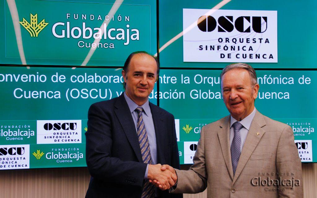 Convenio de la Fundación Globalcaja con la Orquesta Sinfónica de Cuenca