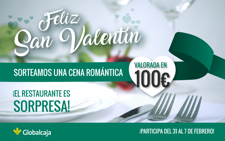 ¡Sorteo Cena Romántica por San Valentín!