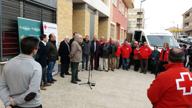 La Fundación Globalcaja Albacete Colabora con un Vehículo Adaptado a Cruz Roja de Tobarra