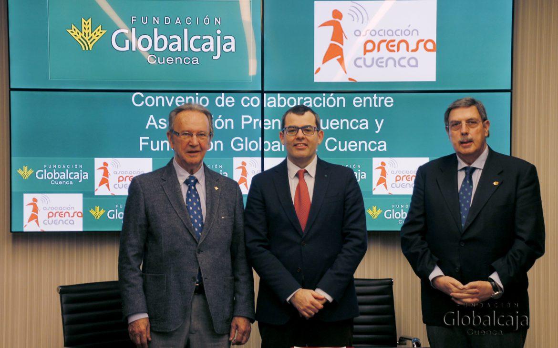 Globalcaja apoya a la APC (Asociación de Prensa de Cuenca) en los II Premios de Periodismo Local