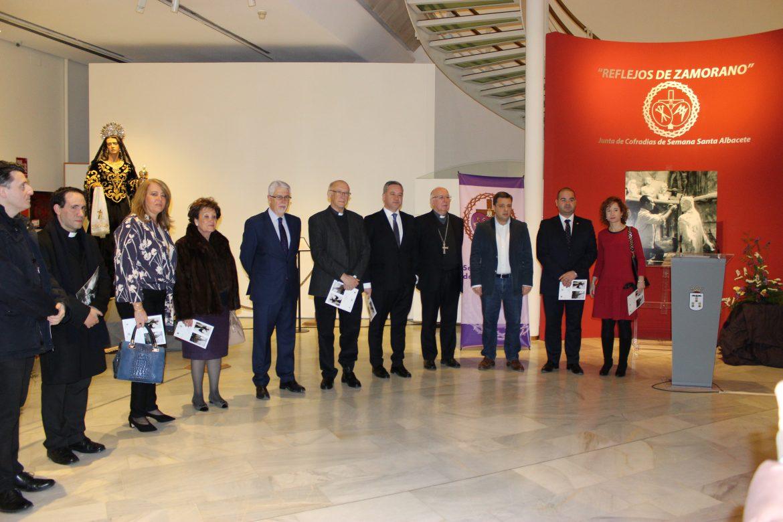 """Inauguración de la Exposición """"Reflejos de Zamorano"""" Un Homenaje al Décimo Aniversario de su Muerte"""