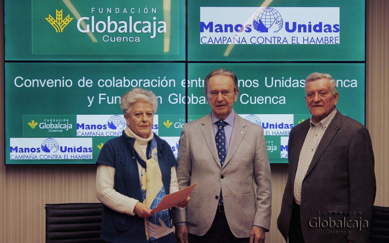 La Fundación Globalcaja Cuenca apoya a Manos Unidas