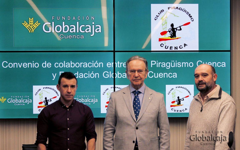 La Fundación Globalcaja Cuenca, con el Piragüismo de Cuenca