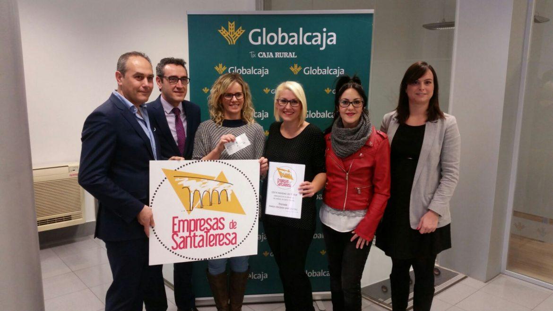 Globalcaja apoya el Pequeño Comercio con el sorteo de la Asociación de Empresas de Santa Teresa