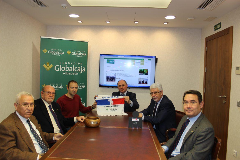"""La Fundación Globalcaja Albacete, con El """"Ironman"""" David Corredor"""