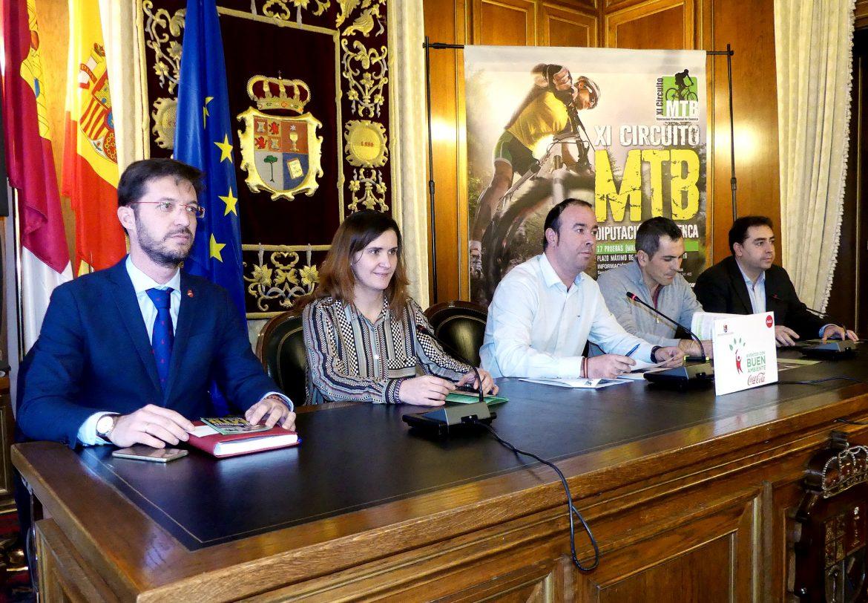 La Fundación Globalcaja Cuenca, en la presentación del XI Circuito de MTB Diputación de Cuenca 2018