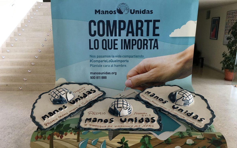 Reconocimiento de Manos Unidas a la Fundación Globalcaja Cuenca