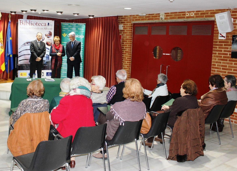 Inaugurado el Taller de Escritura de Aluex, que cuenta con el apoyo de Globalcaja