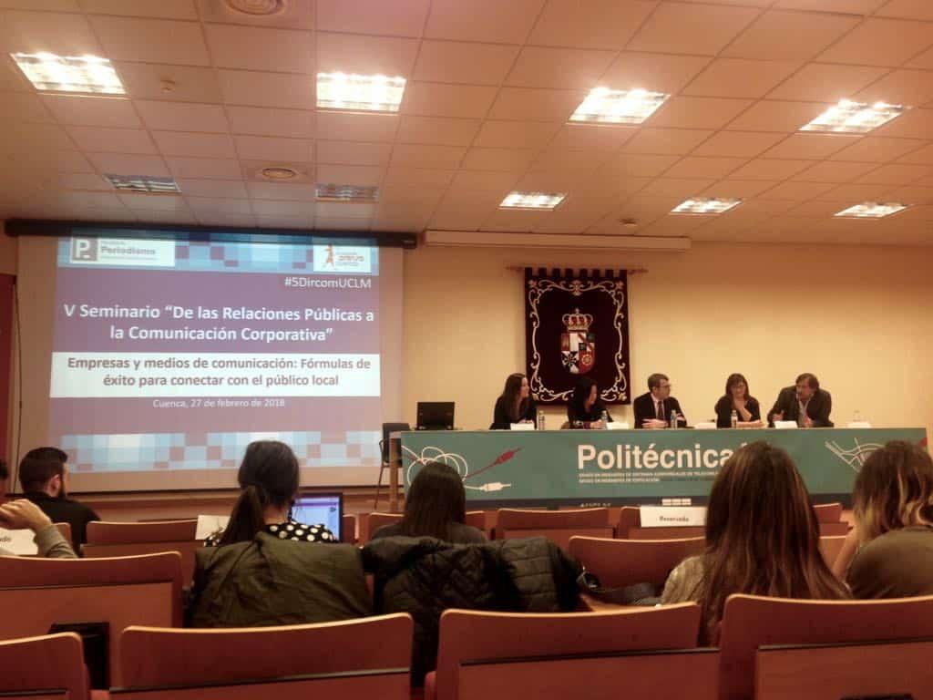 Globalcaja, en un seminario sobre comunicación corporativa de la UCLM