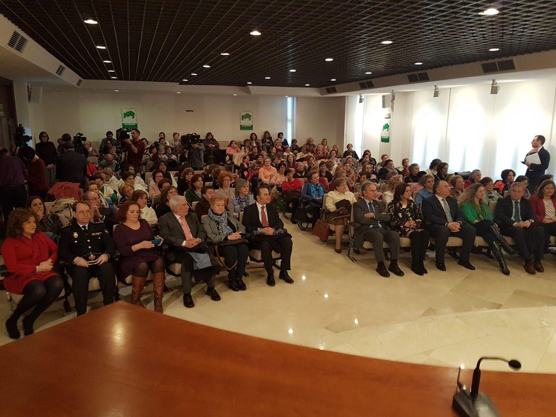 El Presidente de Globalcaja, Carlos de la Sierra, en la inauguración de la asamblea provincial y regional de Afammer