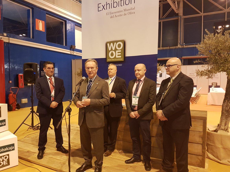 El Presidente de Globalcaja, Carlos De La Sierra, afirma que la WOOE es un ejemplo de cómo conseguir un mayor valor añadido al Sector del Aceite de Oliva