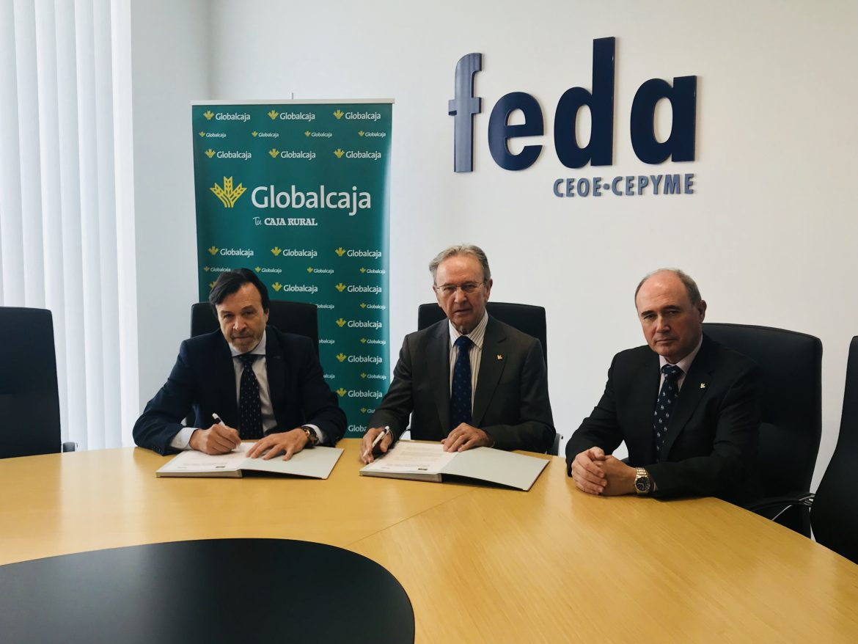 Globalcaja se vuelve a comprometer con Feda en sus acciones de promoción empresarial