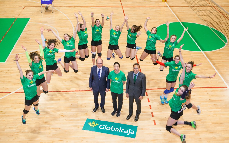 Globalcaja hace posible que el Club de Voleibol Femenino de Albacete vaya al Campeonato de España