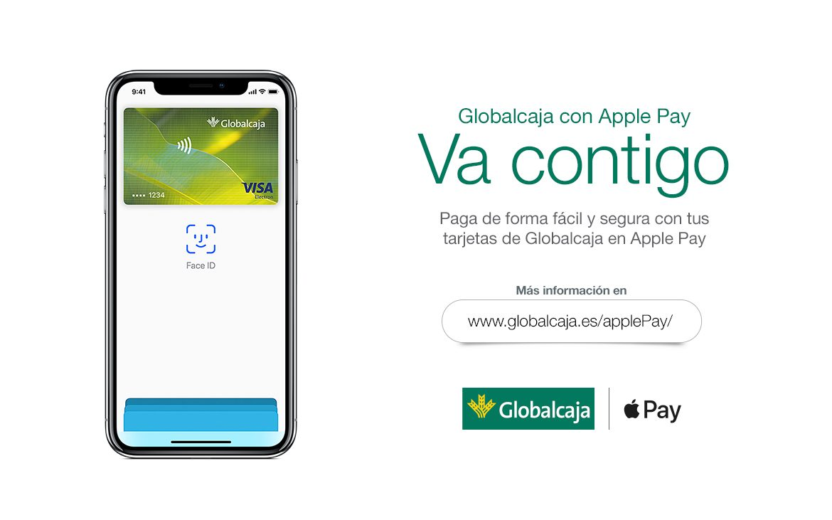 Llega Apple Pay a Globalcaja