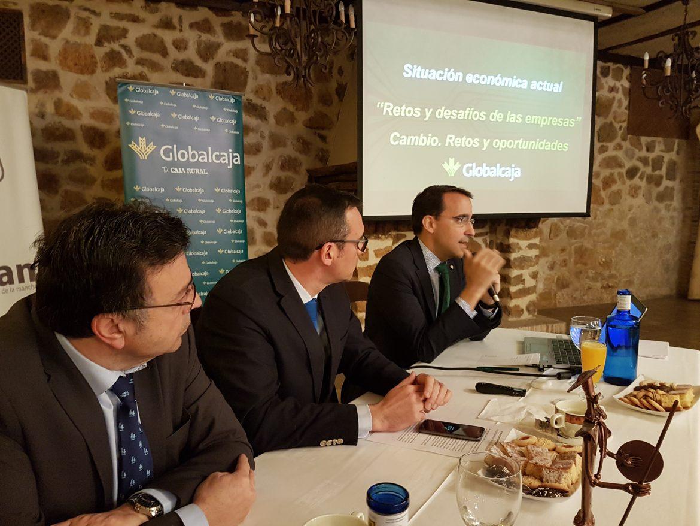 Pedro Palacios, Director General de Globalcaja, analiza la situación económica actual y futura del Sector Empresarial en CLM