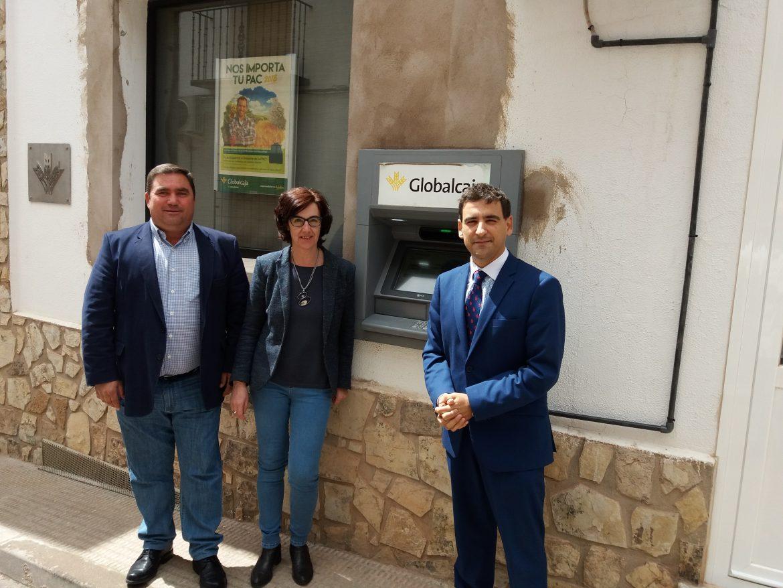 Carrizosa cuenta con un cajero automático gracias a Globalcaja