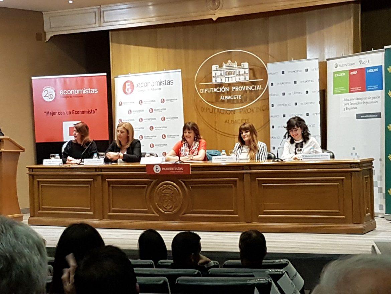La Responsable de Internacional de Globalcaja, en un Foro de Mujeres en puestos de Responsabilidad