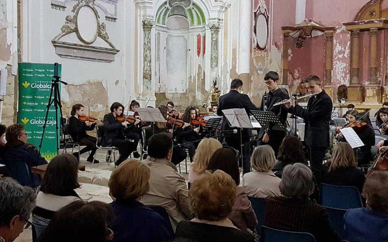 Gran actuación de la Joven Orquesta de Cuenca en Carboneras de Guadazaón