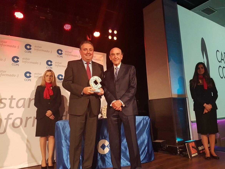 Globalcaja, en Los XV Premios Cadena Cope Ciudad Real