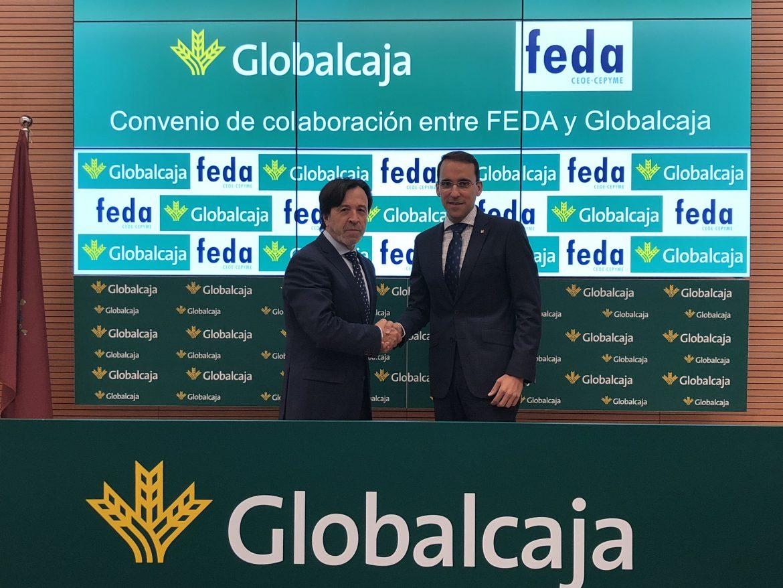 Ambicioso Convenio de Globalcaja con Feda en apoyo del Desarrollo Empresarial de la Provincia de Albacete