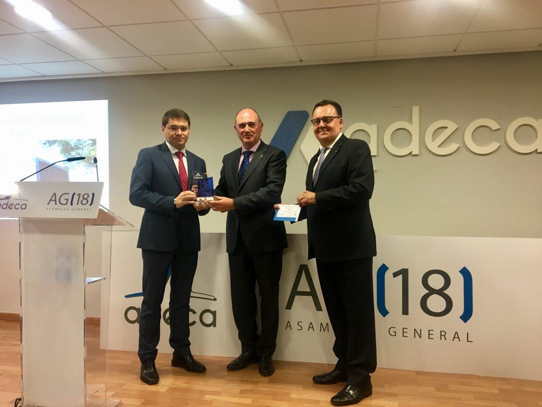 Globalcaja, presente en la Asamblea General y Entrega de Premio de ADECA
