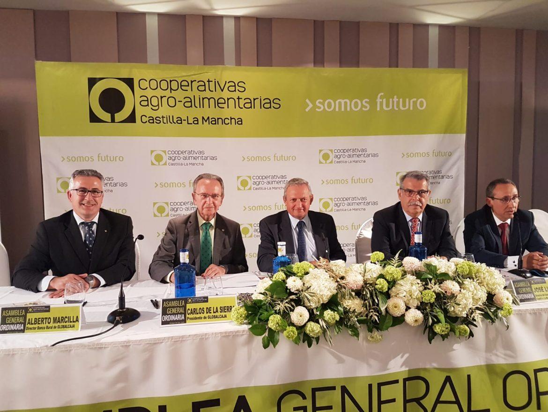 Convenio de Globalcaja con Cooperativas Agro-Alimentarias de Castilla la Mancha firmado con motivo de la Asamblea General