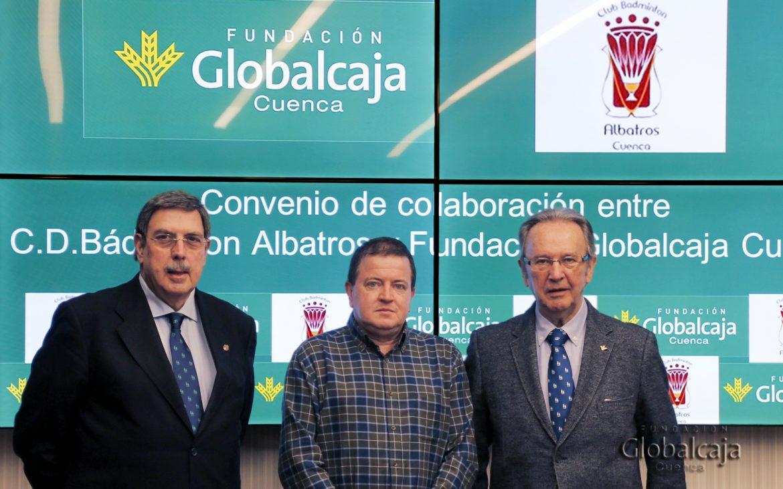 Renovado el Convenio de la Fundación Globalcaja Cuenca con el CD Badminton Albatros