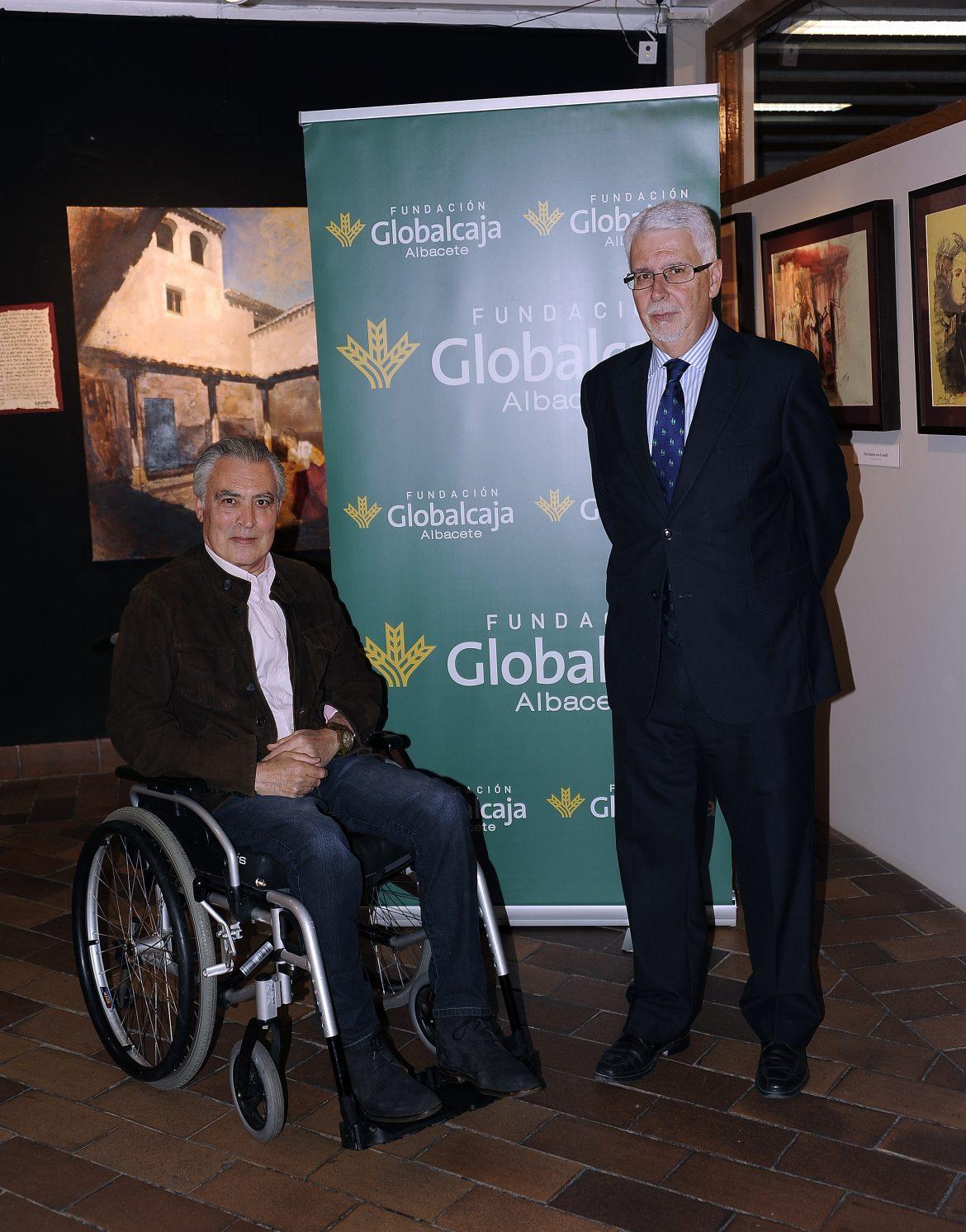 """La Fundación Globalcaja Albacete, Patrocinadora de la Exposición """"El Legado de Cervantes"""""""